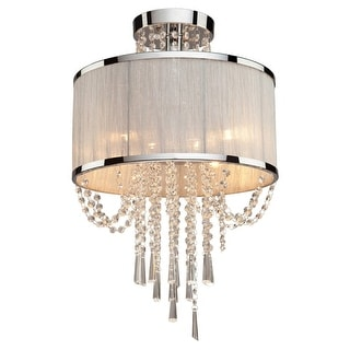 Artcraft Lighting AC10384 Valenzia 4 Light Semi-Flush Ceiling Fixture  sc 1 st  Overstock.com & Buy Chrome Finish Artcraft Lighting Ceiling Lights Online at ...