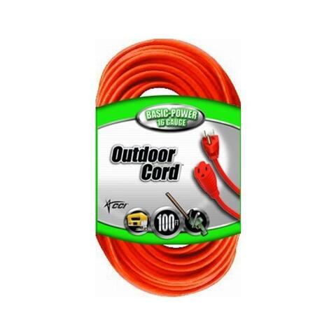 Southwire 023098803 ww 100' sjtw orange exten. cor