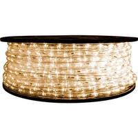 Warm White LED Rope Light - 120 Volt - 148 Feet