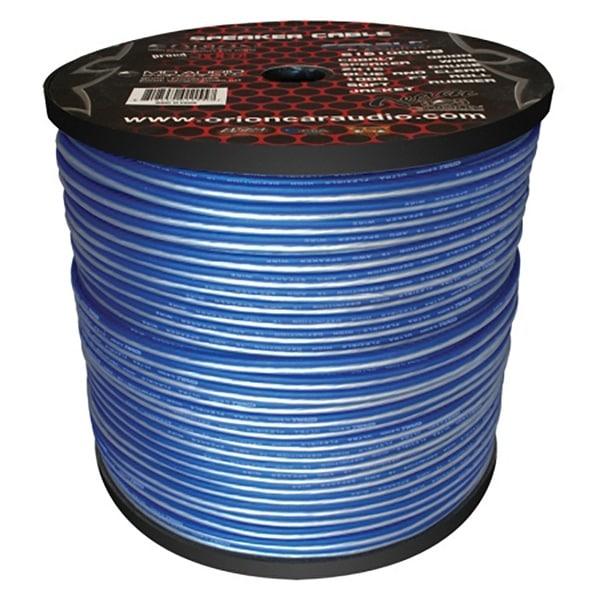 Cobalt Orion Speaker Wire 16 Gauge Blue/Clear 1000ft