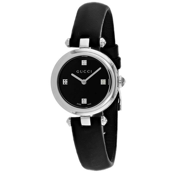 52501d2aacd Shop Gucci Women s Diamantissima Watch - YA141506 - Free Shipping Today -  Overstock - 27107757