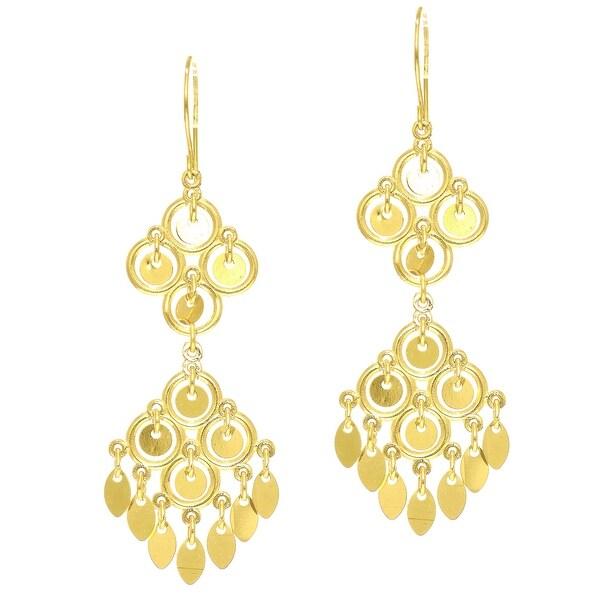 Mcs Jewelry Inc 14 KARAT YELLOW GOLD CHANDELIER EARRINGS