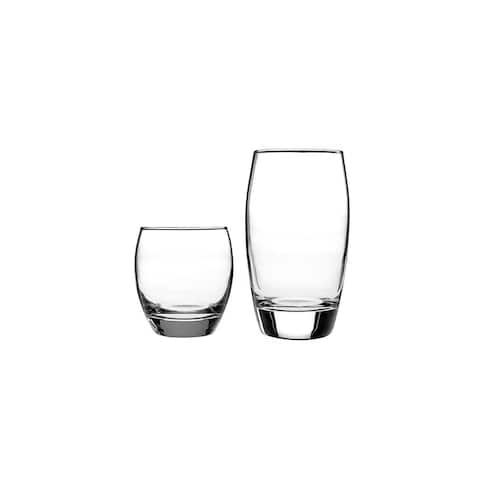 Anchor Hocking 16 Piece Reality Drinkware Set Glass Drinkware