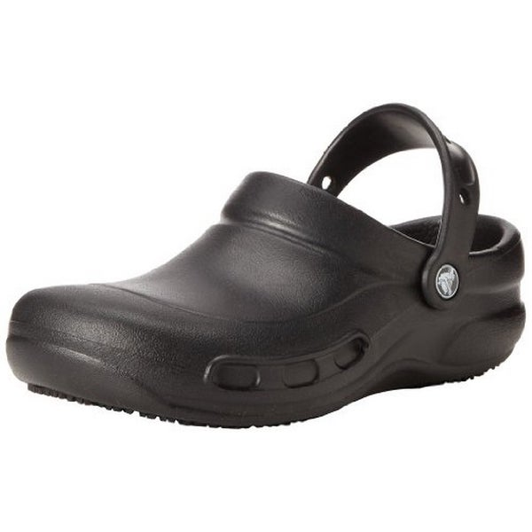 Crocs Mens Bistro, Black, 14