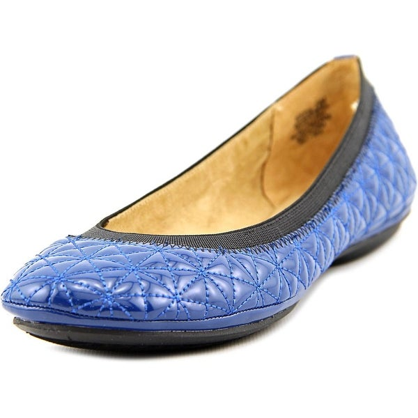 Bandolino Eryn Women Round Toe Synthetic Blue Flats