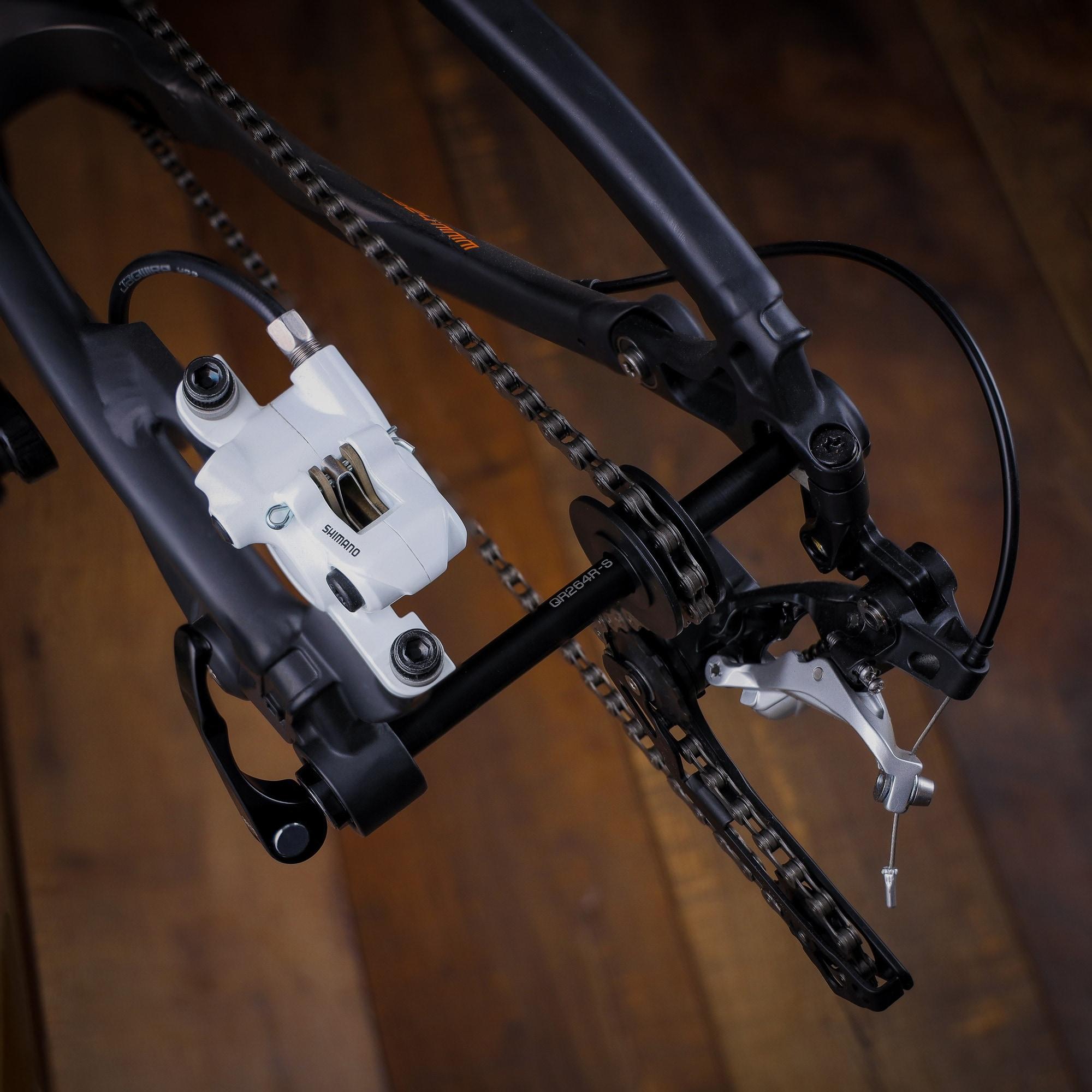 Dummy Hub Bicycle Bike Cycle Chain Keeper MTB Thru Axle Remover Extractor Tool