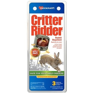 Havahart CR5600 Critter Ridder Rabbit Repellent
