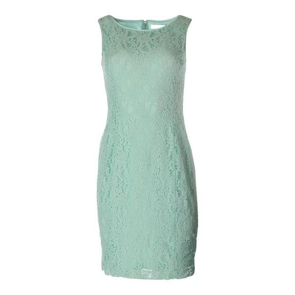 Lauren Ralph Lauren Womens Wear to Work Dress Lace Sleeveless