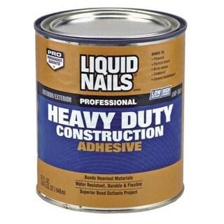 Liquid Nails LNP-903 QUART Heavy Duty Construction Adhesive, 1 Qt