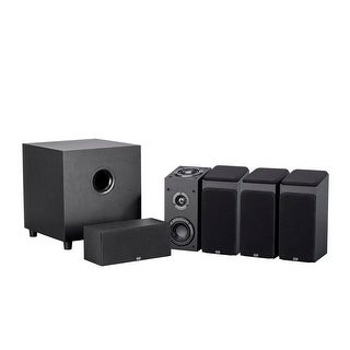 Monoprice Premium 5.1.4-Ch. Immersive Home Theater System - Black With 8 Inch 200 Watt Subwoofer