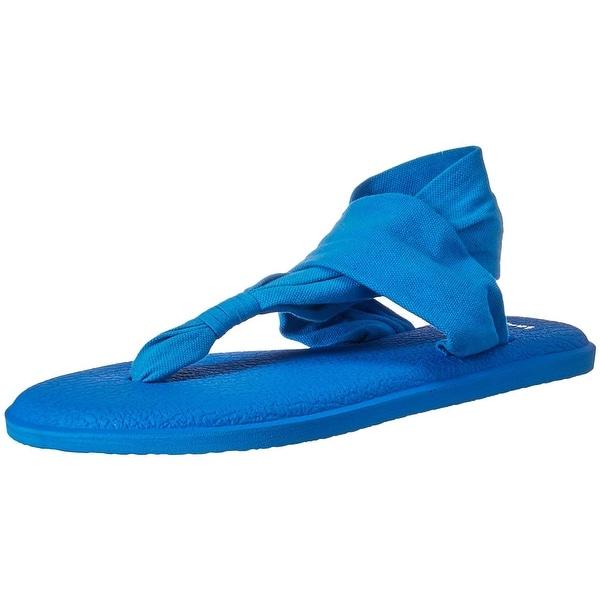 Sanuk Womens yoga sling 2 Open Toe Casual Slingback Sandals