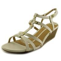 New Directions Womens Martina Open Toe Casual Platform Sandals