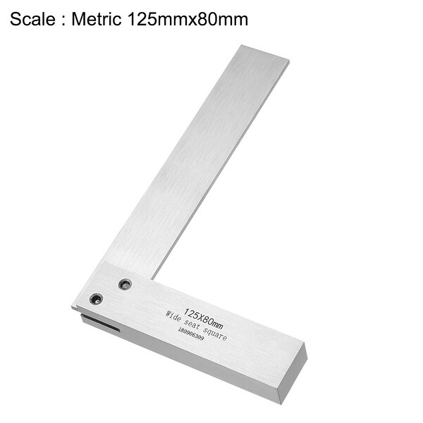 160mmx100mm Woodworking Blade Measuring Tool Right Angle Try Square Ruler