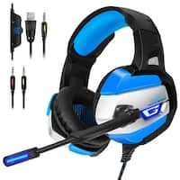 ONIKUMA K5 Stereo Gaming Headsets Headphones for PS4 NewXbox One PC with Mic