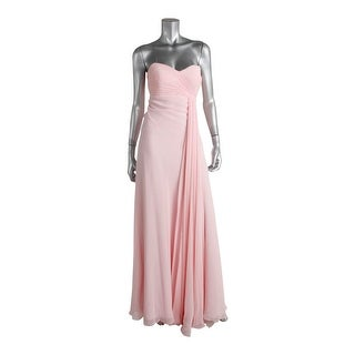 Faviana Womens Strapless Full-Length Formal Dress - 8