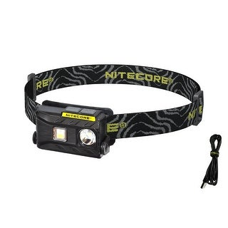 NITECORE NU25 360 lm Rechargeable Headlamp- White, Red, & CRI Outputs