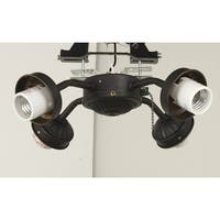 Ellington Fans EUB42 4-Light Ceiling Fan Light Kit - n/a