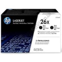 HP 26X Black Original LaserJet Toner Dual Cartridge (CF226XD)(Single Pack)