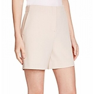 Theory NEW Beige Women's Size 0 Flate Front 4-Pocket Masibeth Shorts