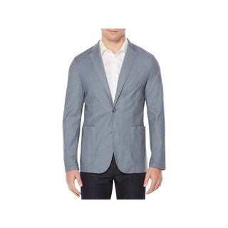 Perry Ellis Mens Two-Button Blazer Slim Fit Lightweight (2 options available)