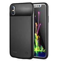 Indigi iPhone X PowerPack Case - 3200mAh - Black - LED Charge Level Indicator