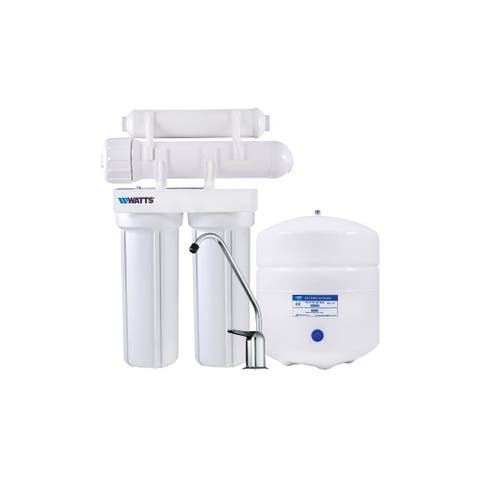 Watts PWRO4 4 Stage Reverse Osmosis System with 3 Gallon Storage Tank -