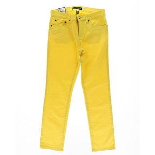 LRL Lauren Jeans Co. Womens Colored Slimming Fit Straight Leg Jeans - 12