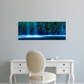 Easy Art Prints Panoramic Images's 'Mossbrae Falls, Sacramento River, Dunsmuir, Siskiyou County, California' Canvas Art