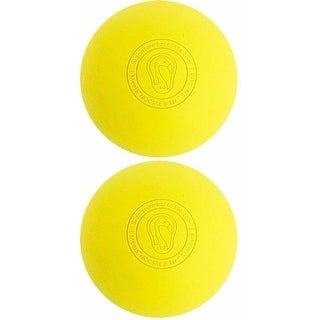 Signature Lacrosse Balls Fully Certified Official (Yellow) Bundle