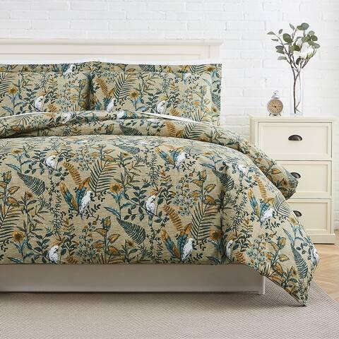 Paradise Cotton Duvet Cover and Sham Set