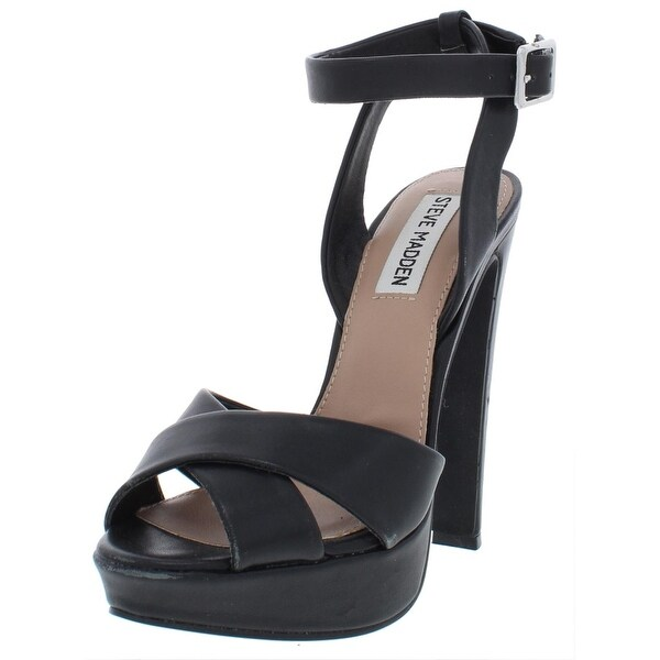 d31dad94c1f20 Shop Steve Madden Womens Andrea Dress Sandals Solid Heels - Free ...