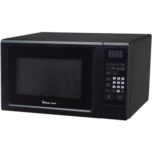 Magic Chef Mcm1110B 1.1 Cubic-Ft, 1,000-Watt Microwave With Digital Touch (Black)