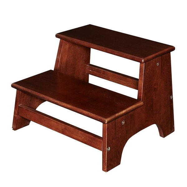 Powell Home Fashions D1056a17e Tyler 13 3 4 Inch Tall Wood Step Stool