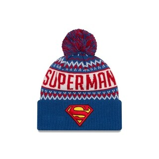 DC Comics Superman Wintry Pom Knit Hat