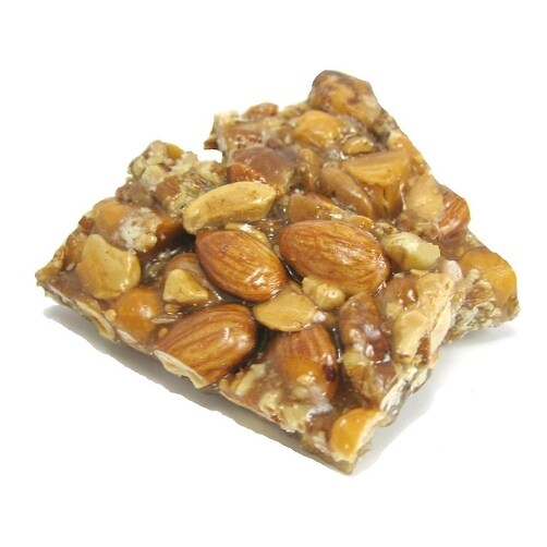 A L Bazzini Bulk Snacks - Peanut Crunch - Case of 10 - 1 lb.