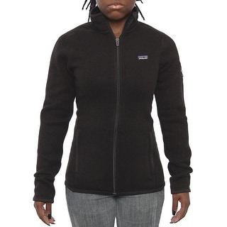 Patagonia Women Women's Better Sweater Jacket Fleece Black
