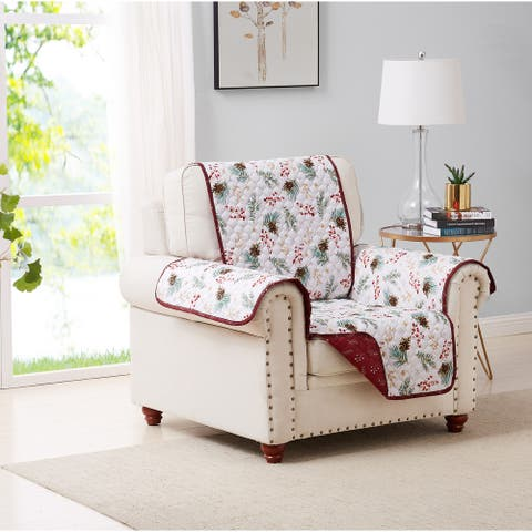 Pinecone Reversible Furniture Protector Chair