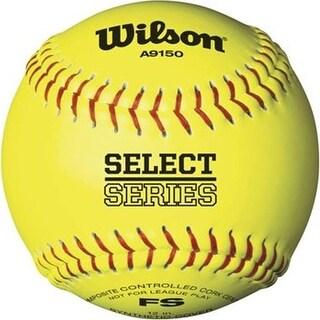 Wilson General Recreation 12in Softball (Yellow)