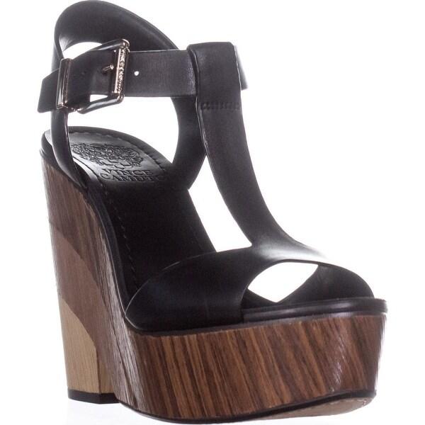 461ddcdfc71e9d Shop Vince Camuto Oriana Wedge Platform T-Strap Sandals
