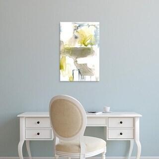 Easy Art Prints Jennifer Goldberger's 'Wandering Layers II' Premium Canvas Art