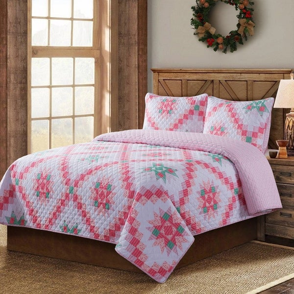 Country Living Retro Star Quilt Set. Opens flyout.