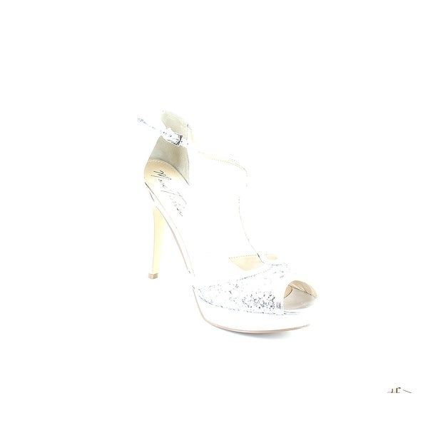 Marc Fisher Womens Tippy Peep Toe Special Occasion Ankle Strap Sandals - 8.5