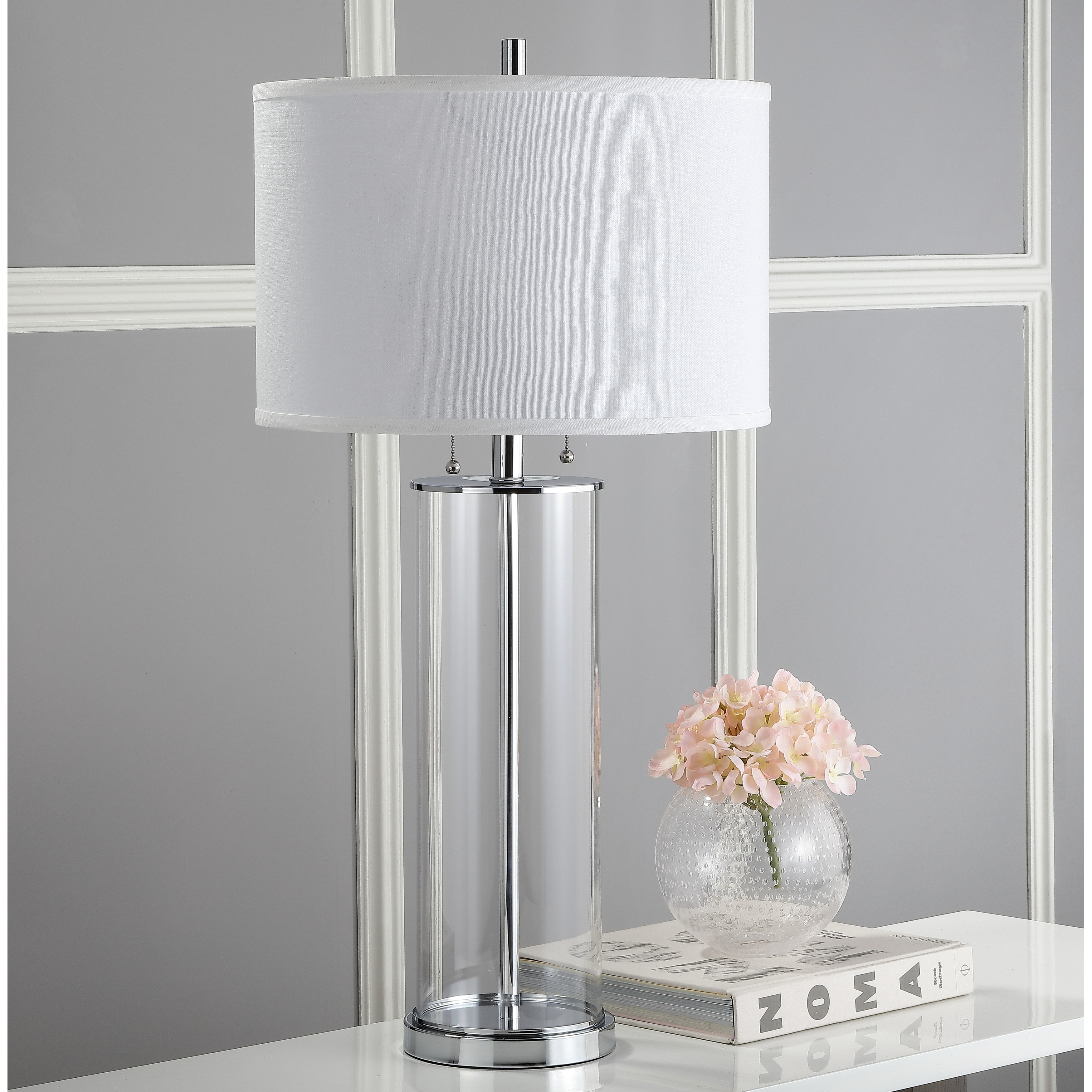 Shop For Safavieh Lighting 31 Inch Velma Clear Off White Table Lamp Set Of 2 16 X 16 X 31 Get Free Delivery On Everything At Overstock Your Online Lamps Lamp Shades Store Get 5 In Rewards With Club O 13434465