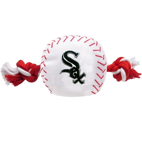 26b1ce679 Shop MLB Chicago White Sox Baseball Rope Toy for Dogs. - Pet Squeaking  Sports Toy - On Sale - Free Shipping On Orders Over  45 - Overstock -  14808128