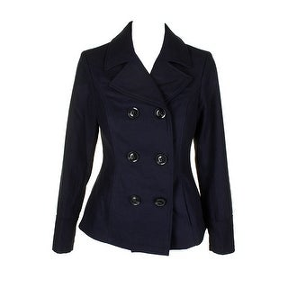 Celebrity Pink Juniors Navy Double-Breasted Peacoat XXL