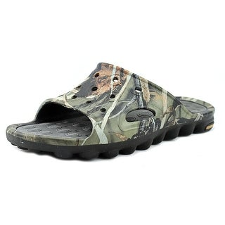 Duck Commander Mud-Puppy Youth Open Toe Synthetic Multi Color Slides Sandal