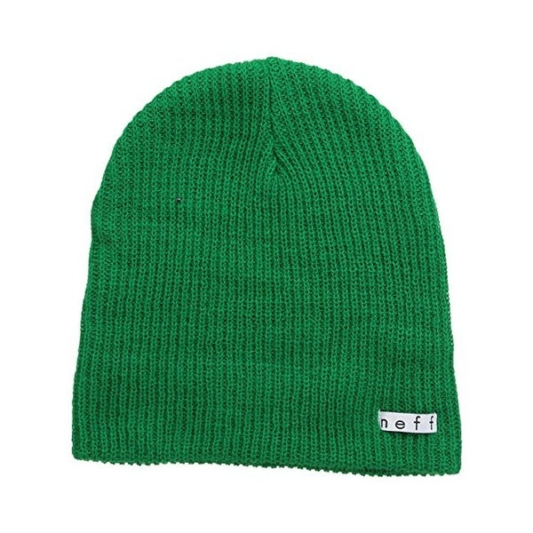 501d5708cf503e Shop Neff Mens Beanie Hat Ribbed Knit Solid - o/s - Free Shipping On ...