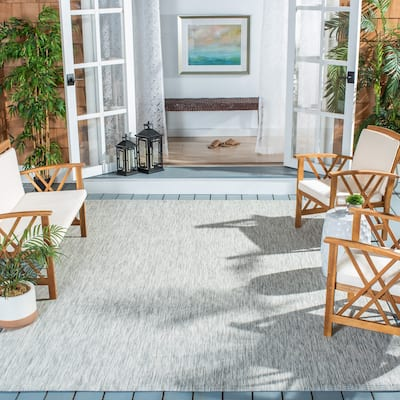 SAFAVIEH Courtyard Marolyn Indoor/ Outdoor Patio Backyard Rug