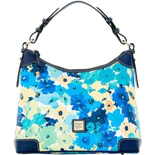 Dooney & Bourke Somerset Watercolor Hobo (Introduced by Dooney & Bourke at $228 in Jan 2016) - Marine
