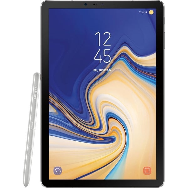 """Samsung Galaxy Tab S4 10.5"""" Tablet 64GB WiFi Qualcomm Snapdragon 835,Gray(Certified Refurbished). Opens flyout."""